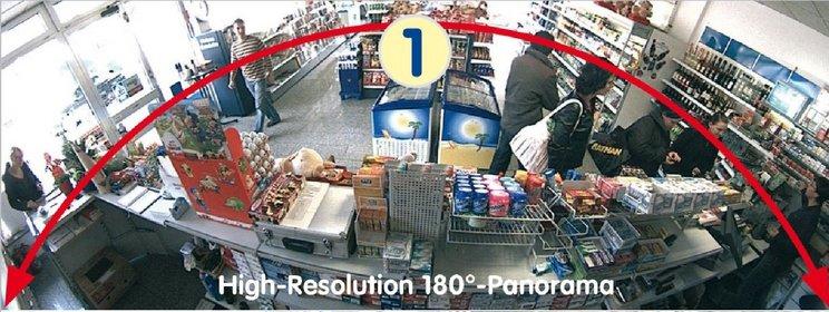 Dahua Fish eye IP HD camera