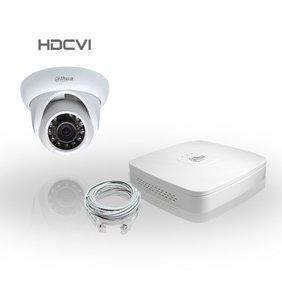 Dahua Compleet HDCVI Pakket met 1 Bewakingscamera