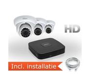 Dahua HD IP Pakket 3 Camera's incl. installatie