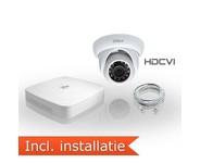 Dahua HDCVI Pakket 1 Camera Incl. Installatie