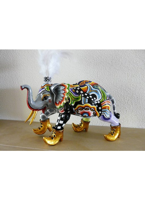 Toms Drag Olifant Hannibal olifantenbeeldje - L
