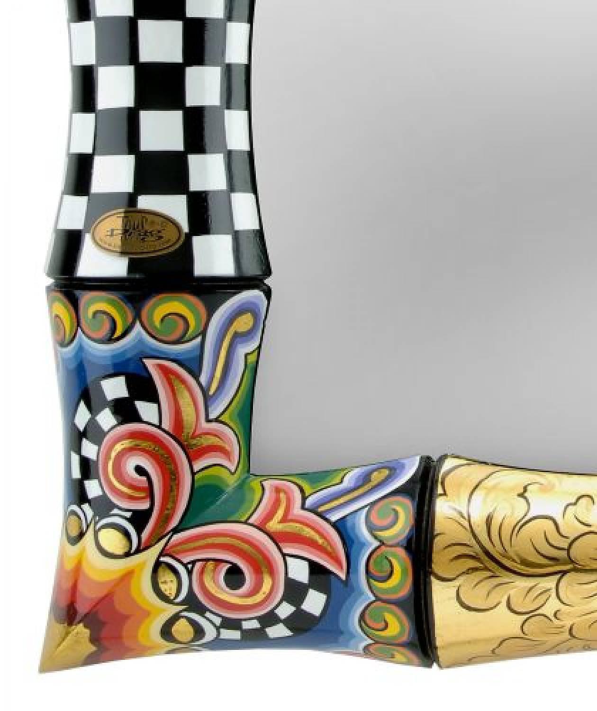 Toms Drag Espejo Bamboo - 70 cm - DecoVista - decoración de interiores