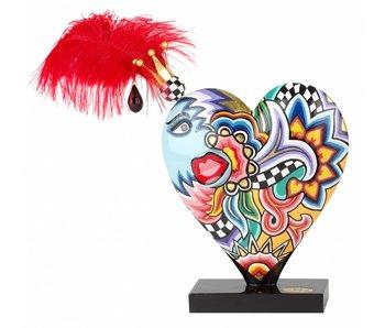 Toms Drag Decoratief hart - L