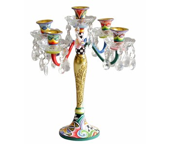 Toms Drag Candlestick - 5 Candles