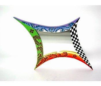 Toms Drag Spiegel a-symmetrische vorm, wandspiegel