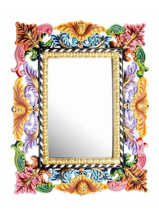 Toms Drag Rechthoekige spiegel in barokstijl - 96 cm