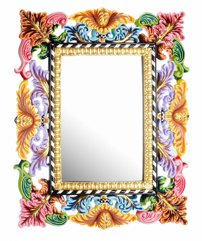 toms drag spiegel barock 96 cm decovista farbenfrohe kunstobjekte und wanddekoration. Black Bedroom Furniture Sets. Home Design Ideas