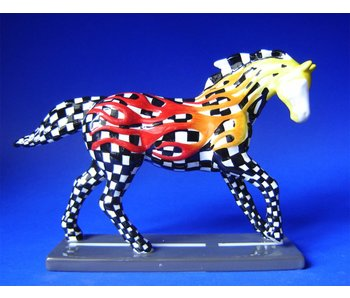 Trail of Painted Ponies Horsepower to burn, paardenbeeld 2e editie