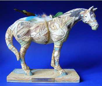 Trail of Painted Ponies Fetisch Pony, retired Pony Statue - L