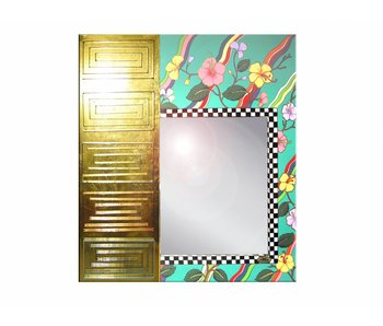 Toms Drag Spiegel rechthoek Tahiti