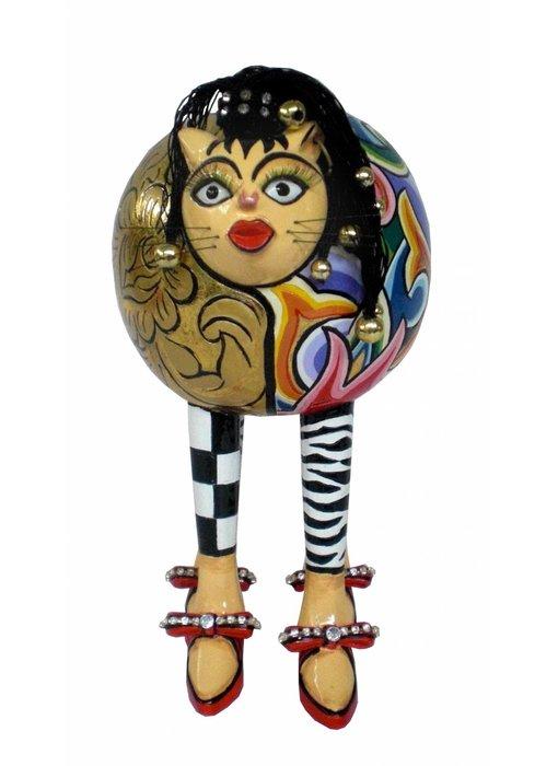Toms Drag Figurine cat Whoopi  - M