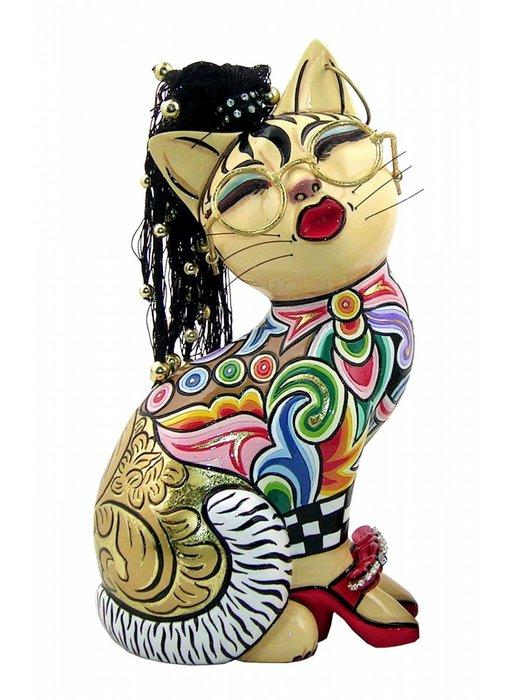 Toms Drag Katzenfigur Nelly - L