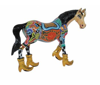 Toms Drag Paard Thunder - L -