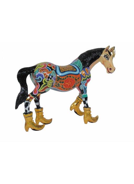 Toms Drag Paard Thunder - L , paardenbeeld