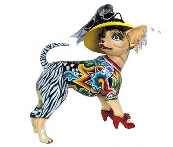 Toms Drag Hond : Chihuahua hondje - staand model Frida - M -