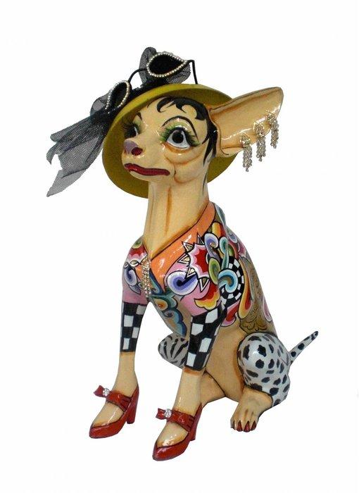 Toms Drag Hond Chihuahua Frida, zittend, L