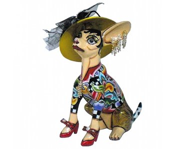 Toms Drag Dog Chihuahua  - sitting Frida - M