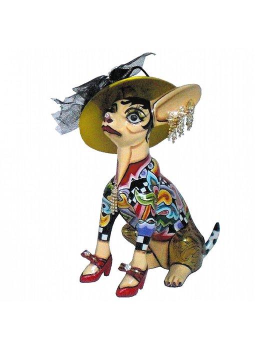 Toms Drag Hund  Chihuahua , sitzend Frida - M