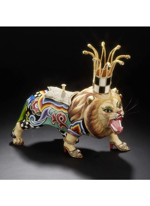 Toms Drag Leeuw - Drag Lion Clarance Crystal