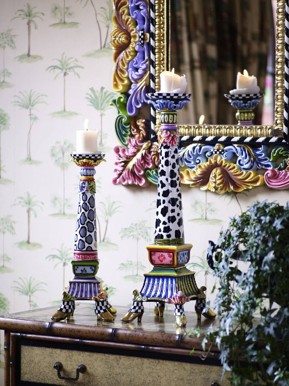 toms drag candlestick barock style on 4 shoes m decovista colorful art toms drag wall. Black Bedroom Furniture Sets. Home Design Ideas