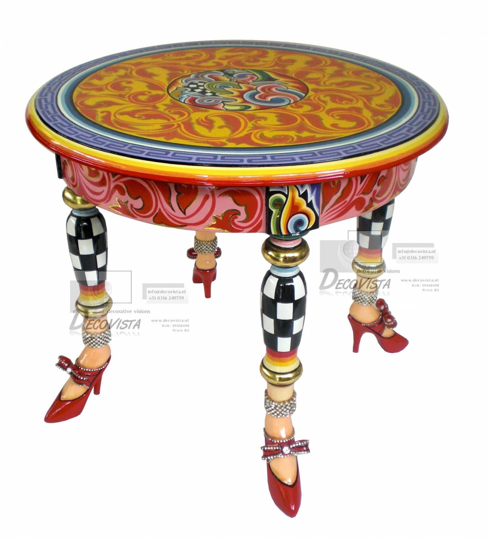 tafel bijzettafel versailles collectie decovista kleurrijke kunst en wanddecoraties. Black Bedroom Furniture Sets. Home Design Ideas