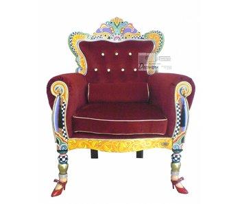 Toms Drag armchair - Drag throne -