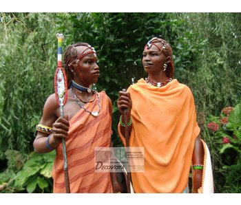 Mouseion Masai, Masaai Skulptur
