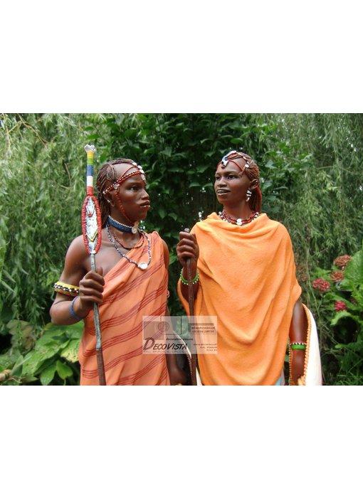 Mouseion Masaai beeld (Masai)