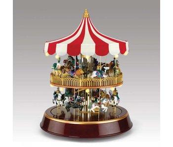 Mr Christmas Carrousel dubbeldekker Mr. Christmas - collectors item