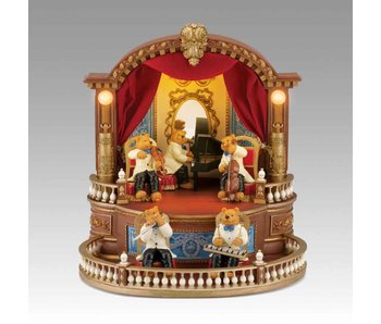 Mr Christmas Bear Orchestra Mr. Christmas Gold Label musicbox