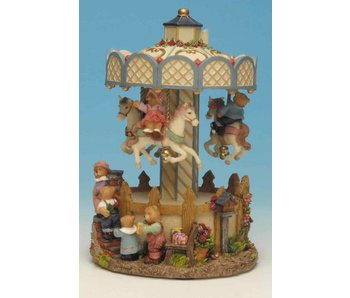Musicboxworld Carousel with bears