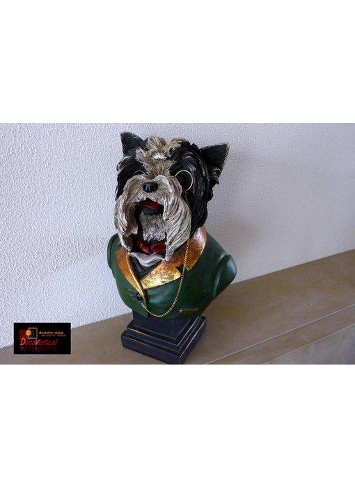 Terrier Büste - 24 cm