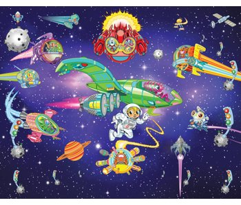 Walltastic Alien Adventure XXL Tapete Letzte Exemplare