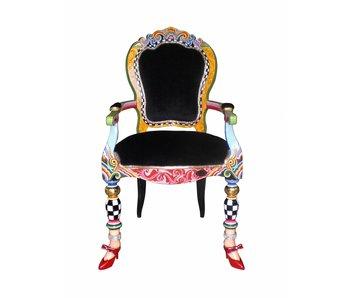Toms Drag Armstoel Versailles, modern klassiek
