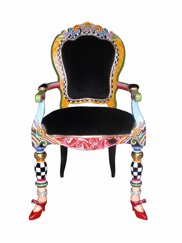 Toms drag chair versailles collection decovista for Sedia wrap