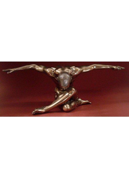 BodyTalk Bodybuilder sculpture, nude male - L
