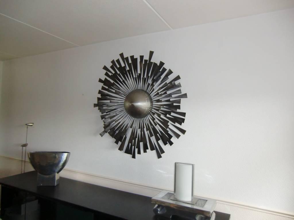 c jer metal wandskulptur ignition decovista. Black Bedroom Furniture Sets. Home Design Ideas