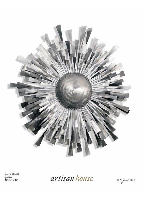 C. Jeré Metalen wanddecoratie IGNITION