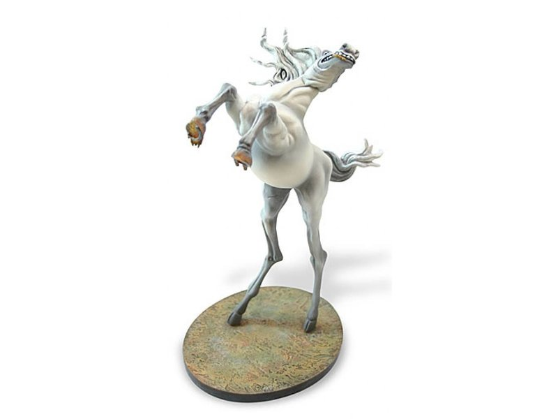Salvador Dali Wit paard uit de Verzoeking - Salvador Dali