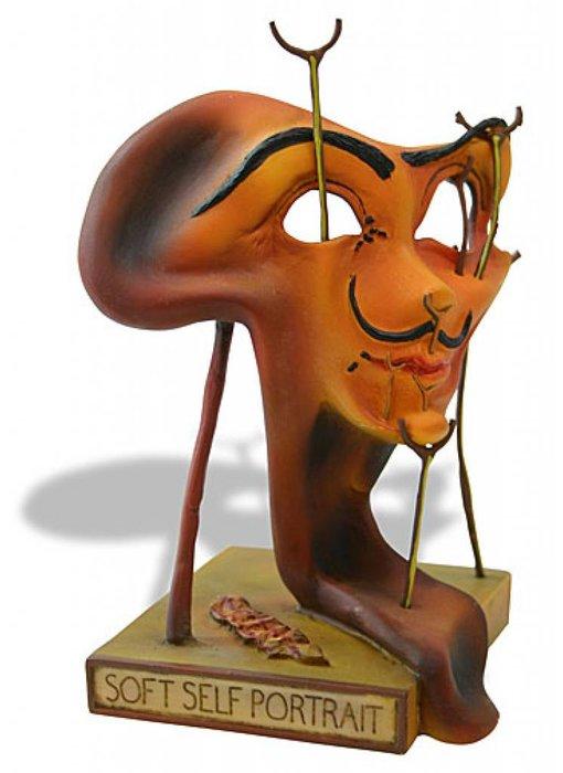 Salvador Dali Weiches Selbstbildnis mit gebratenen Speck - Dali