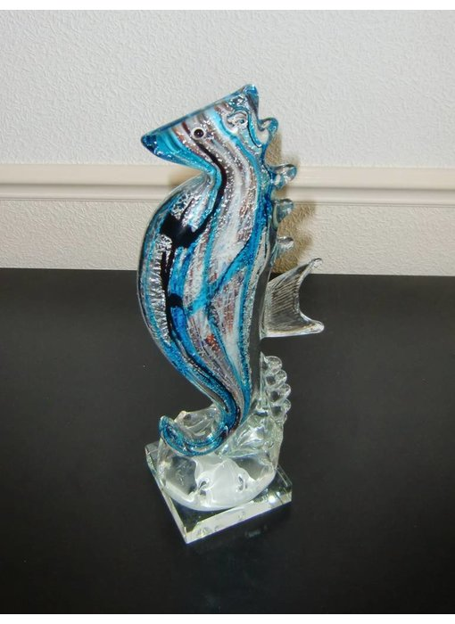 Vetro Gallery Seahorse sculpture