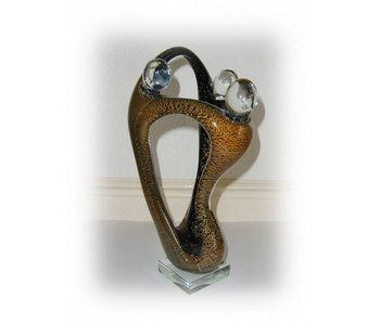 Vetro Gallery Glassculptuur Trio