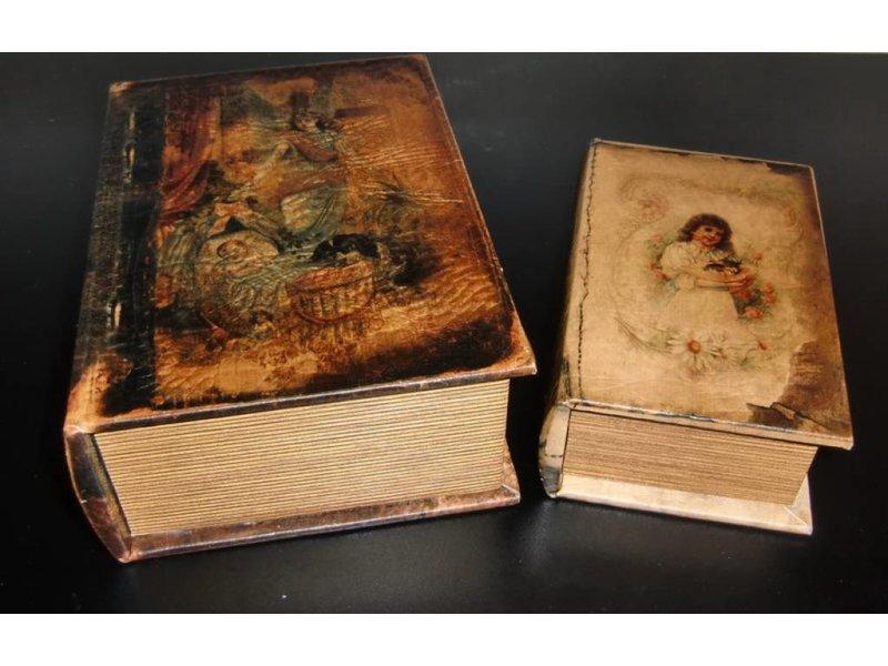 Baroque house of classics barokdesign boekenkluis romans met geheim vak decovista kunst en - Geheime deco ...