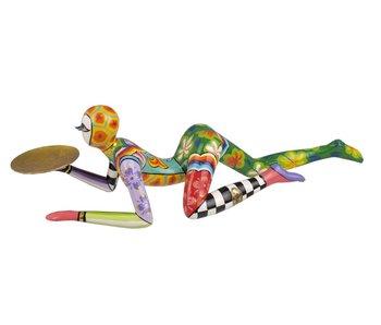 Toms Drag acrobaat beeldje, acrobaten beeldje acrobaatbeeldje