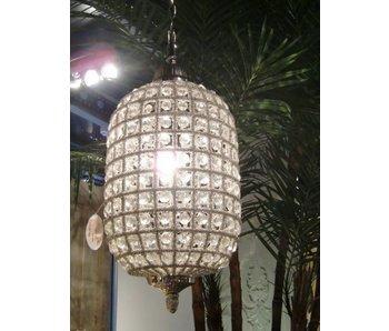 Baroque House of Classics Hanglamp Ananas met  diamanten- barokstijl