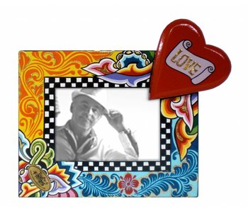 Toms Drag Fotolijstje met hart - S