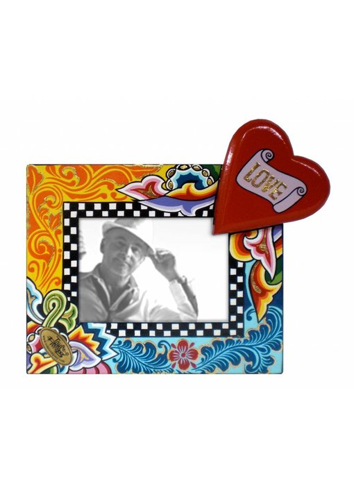 Toms Drag Fotolijstje Love met hart - S