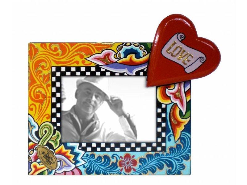 Marco con corazón - S- - DecoVista - decoración de interiores