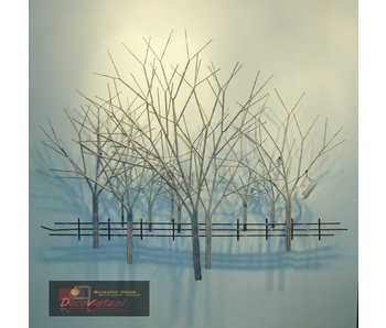 C. Jeré Winter Orchard - metal wall art C. Jere