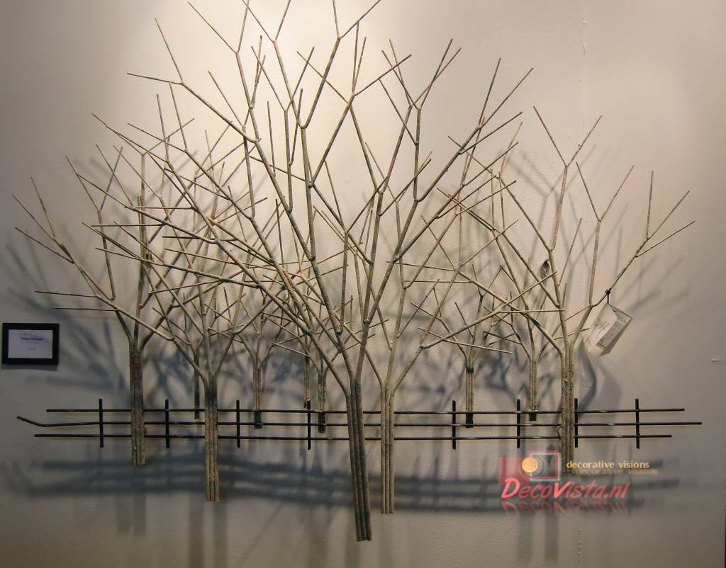 Wall Art At House Of Fraser : C jer? winter orchard metal wall art artisan house